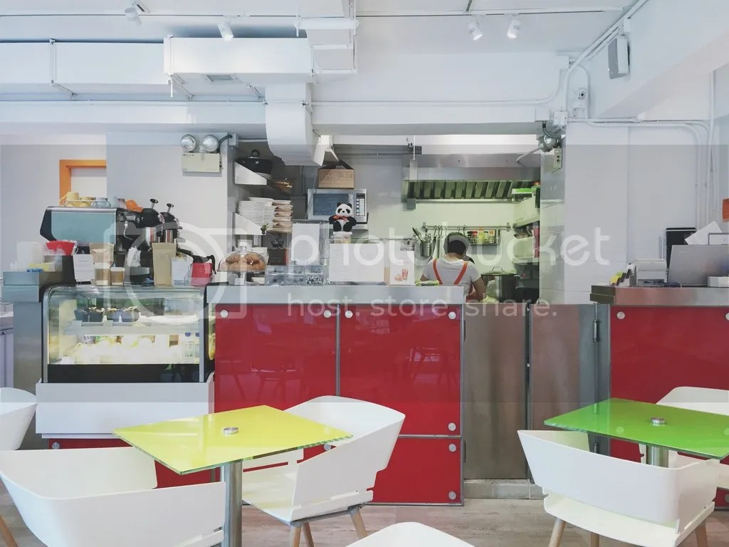 Café d'i on 11 Chancery Lane in Central, Hong Kong