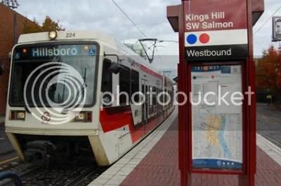 Kings Hill/Salmon Street MAX Station