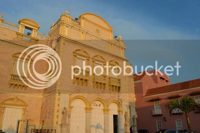 Heredia Theatre-Cartagena, Colombia