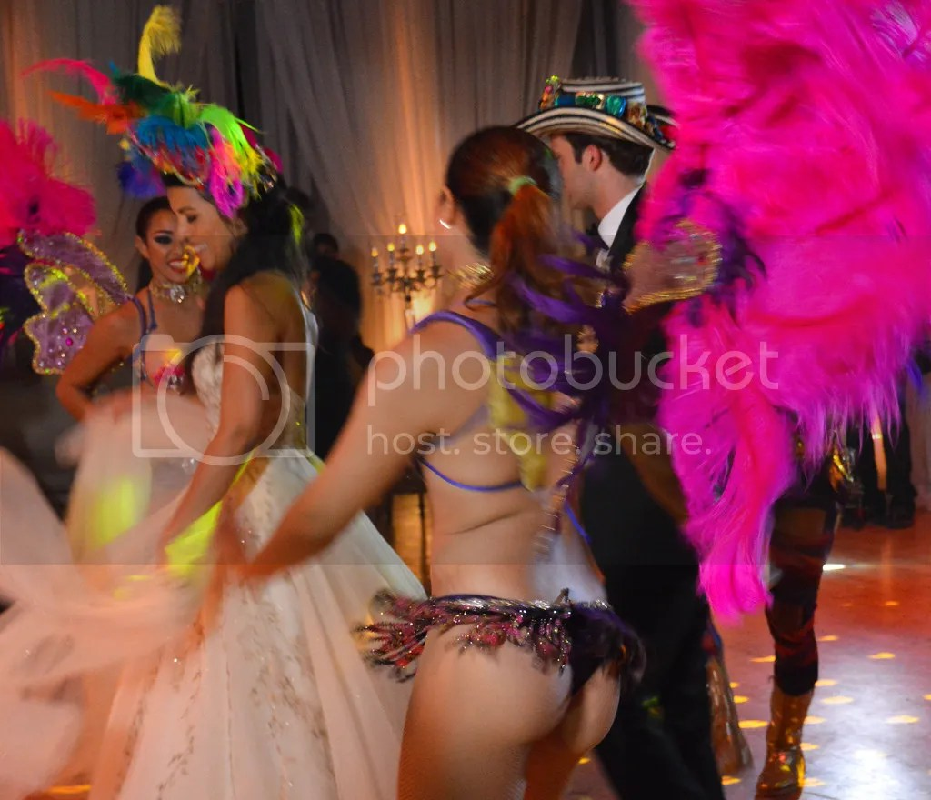 Carnival Dancers at the Wedding