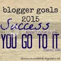 Blogger Goals 2015