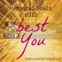 Personal Goals 2015