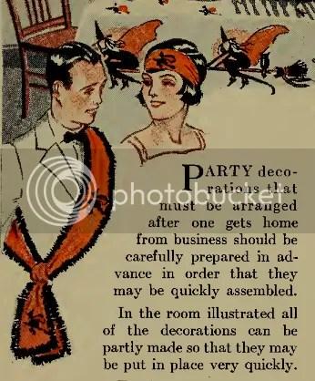 chloe hearts owls - vintage halloween - 1920s bogie book costumes