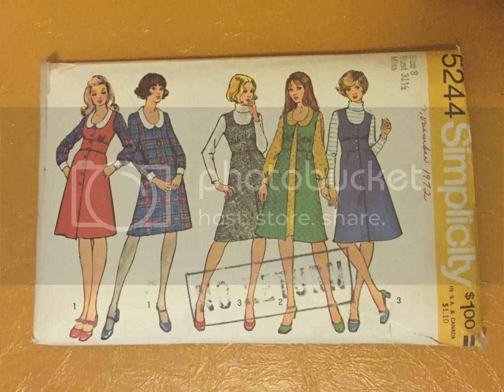 chloeheartsowls.com - vintage sewing - simplicity 5244