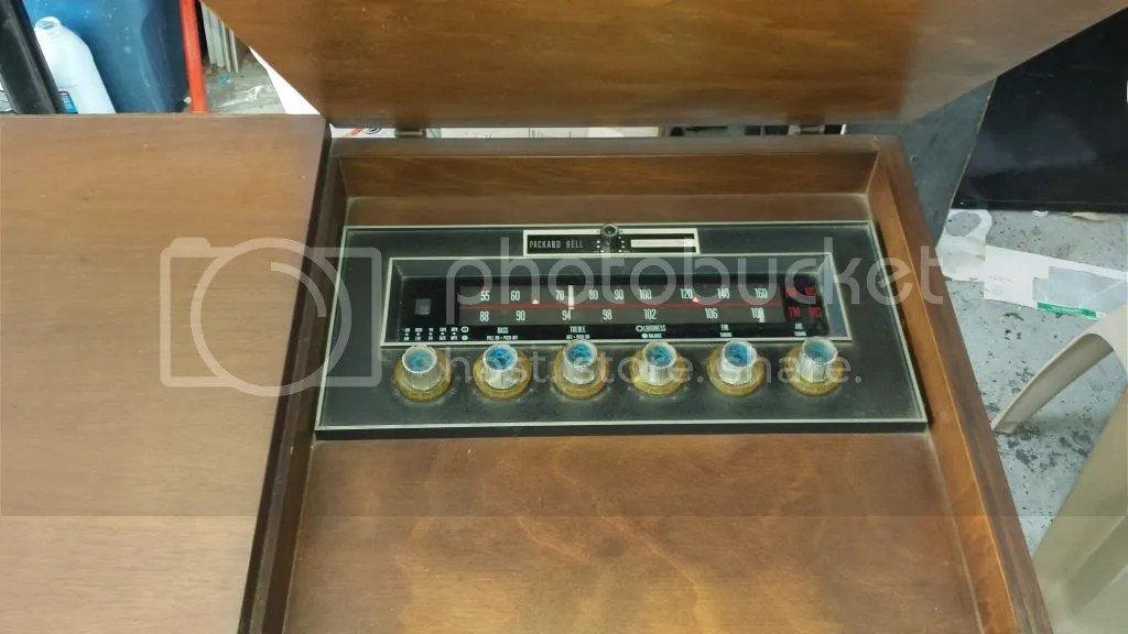 Packard Bell Stereo Console