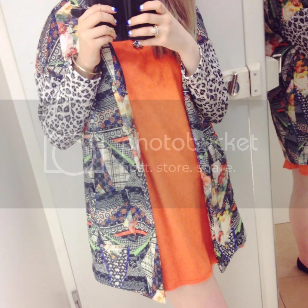 river island patchwork jacket