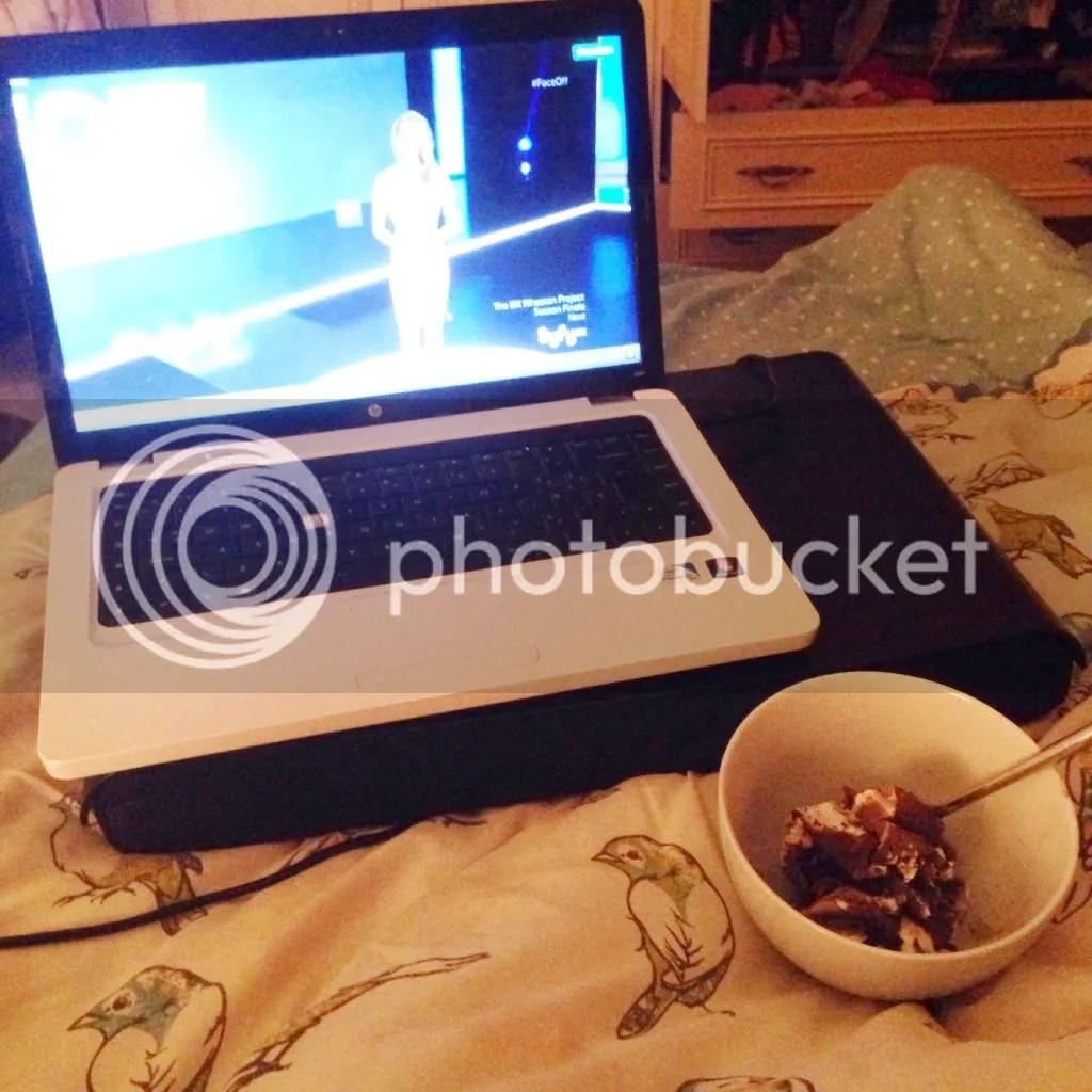 ice cream and tv