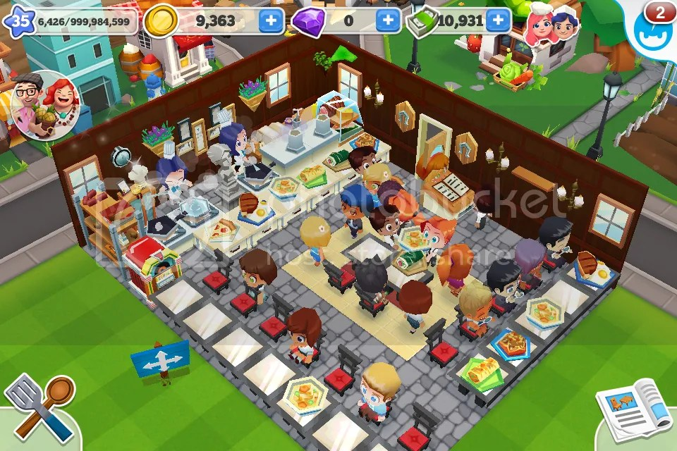 Restaurant Story2  game play  tips  tricks and some pics