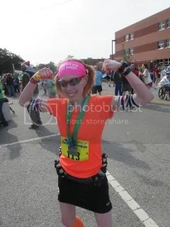 Me after finishing the Charleston Marathon - Charleston, South Carolina