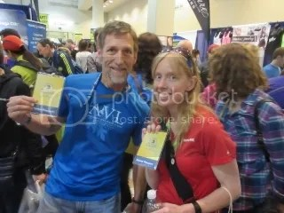 Matthew and me at the Boston Marathon Race Expo