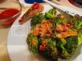 Crispy Broccoli made with Kitchen Table Bakers Parmesan Mini Crisps