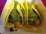 Evol Foods Gluten Free Sweet Potato, Black Bean and Goat Cheese Street Tacos (prepared)