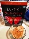 Luke's Multi-Seed Multigrain & Seed Crackers