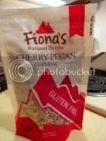 Fiona's Natural Foods Gluten Free Cherry Pecan Oatmeal