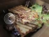 Juniper's Gluten Free Vegan BBQ Bacon Sandwich