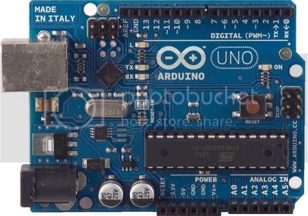 Arduino Uno als controller voor de zwembad automatisering