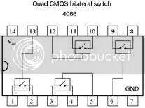 CD4066: Quad Bilaterale switch
