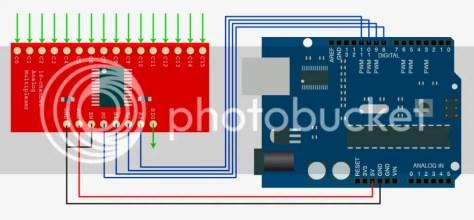 74HC4067 en Arduino Uno