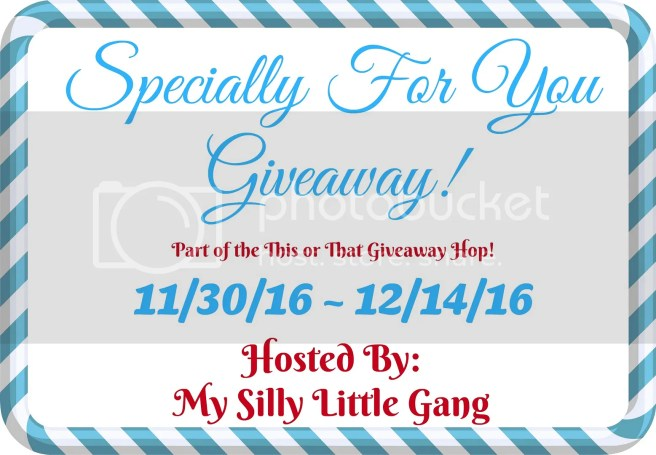 specially for you giveaway