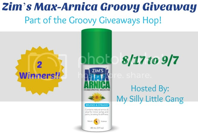 zim's max-arnica groovy giveaway