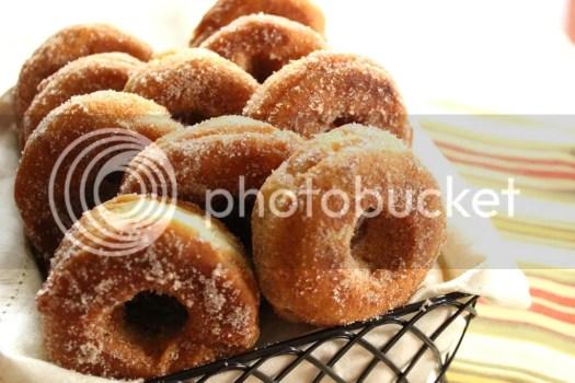 Crisp Apple Donuts Recipe