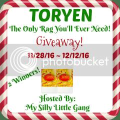 TORYEN Giveaway