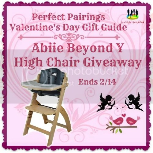 Abiie Beyond Y High Chair Giveaway ~ Ends 2/14 #SMGN