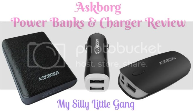 Askborg Power Banks and charger review