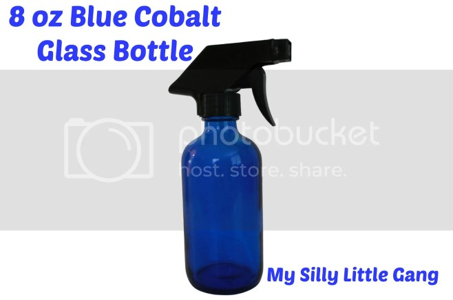 blue cobalt glass bottle