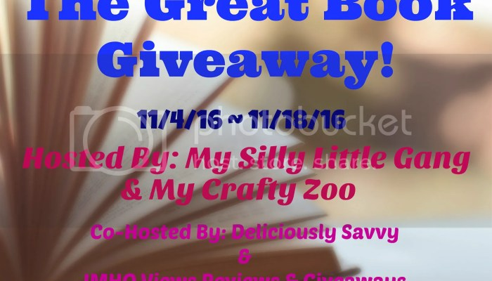 The Great Book Giveaway Ends 11/18/2016