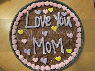 GourmetGiftBaskets Mother's Day Brownie Cake