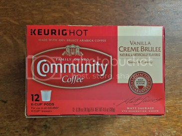 vanilla creme brulee community coffee