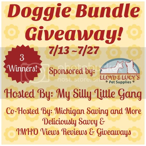 Doggie Bundle Giveaway