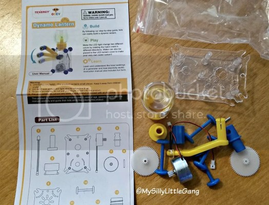 Dynamo Lantern Stem Building Toy