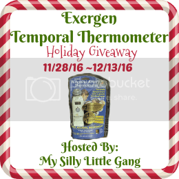 exergen temporal thermometer giveaway