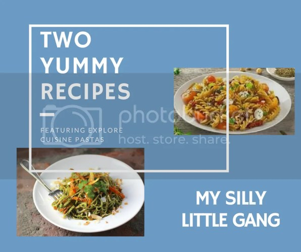 two yummy pasta recipes