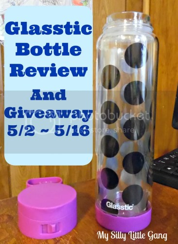 Glasstic Bottle Review & Giveaway