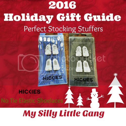 hickies no tie shoelaces stocking stuffers