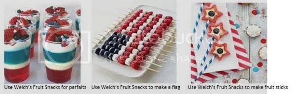 Fourth of July snacks