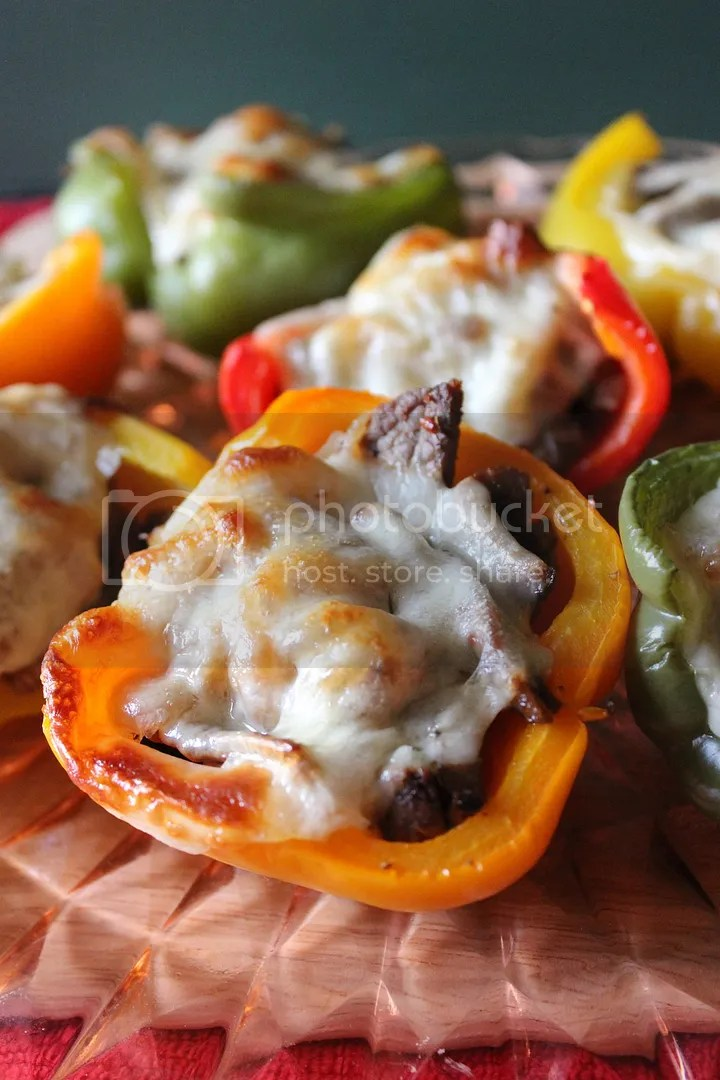 Philly Cheesesteak Stuffed Peppers