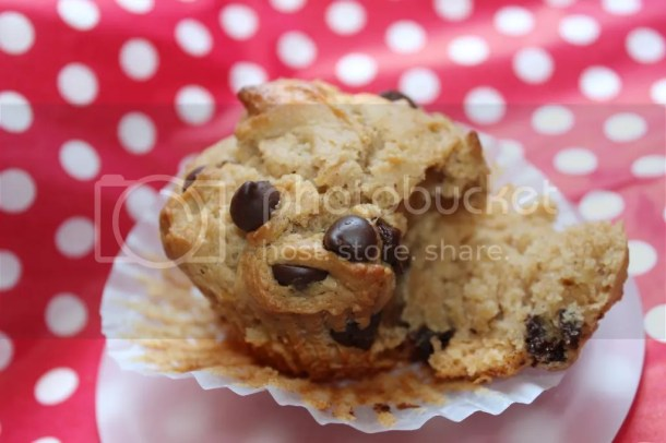 Peanut Butter Chocolate Chip Chunky Monkey Muffin {vegan adaptable} - See more at: http://s1376.photobucket.com/user/Joanna_Brittain/media/july2014001_zps2a5cd69d.jpg.html#sthash.fXBCw2zj.dpuf