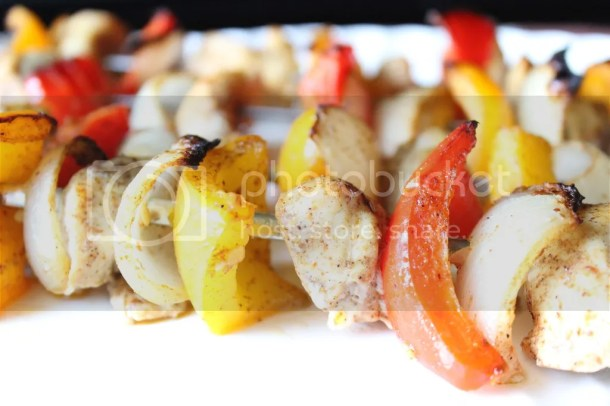 Fajita Style Chicken Kabobs