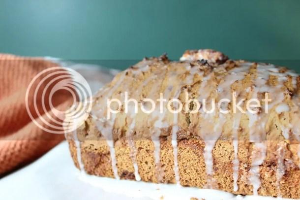Cinnamon Swirl Banana Pumpkin Bread via Everyday Made Fresh