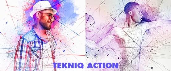 Elemental Photoshop Action - 75