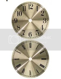 Clock PArts 6 inch Dial Face