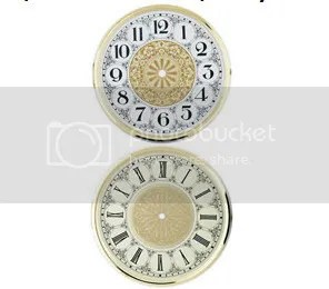 Crystal Clock Dial Face Clock Parts.com