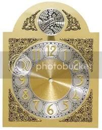 Grandfather Clock Bezel Clock Parts.com