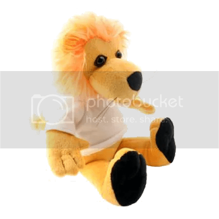 Prezzie Factory prints Lion Soft Toy