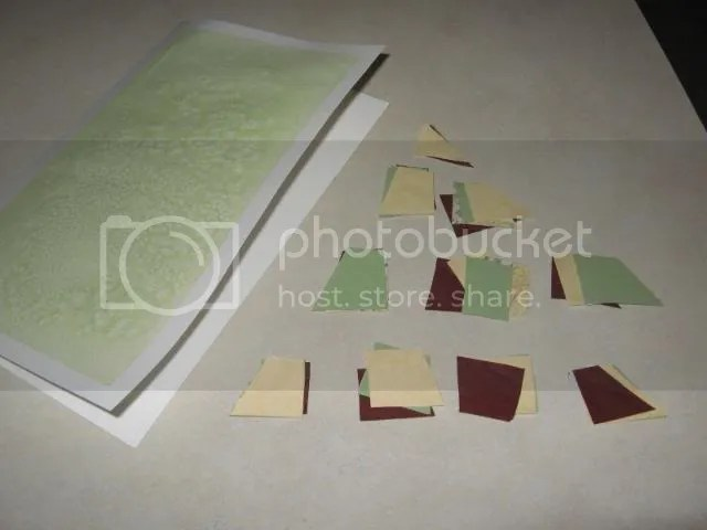 Card and cut papers
