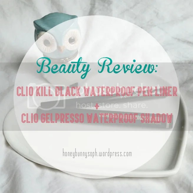 CLIO Waterproof Pen Liner Gelpresso Waterproof Shadow